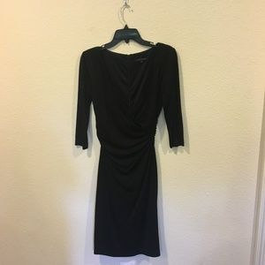 David Meister Dresses - David Meister black v neck dress